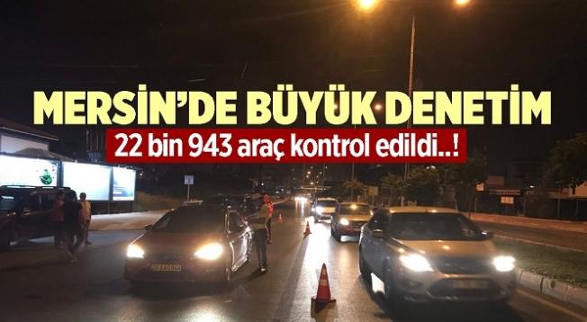 Mersin'de Trafik Kontrollerinde 2 Milyon TL Para Cezası Uygulandı