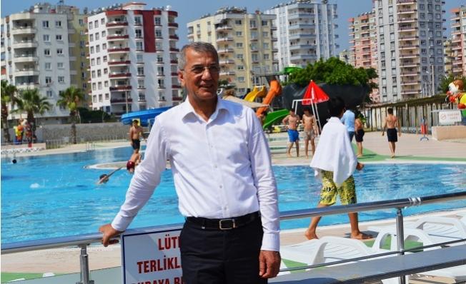 Mezitli Belediyesi Su Parkı 19 Bin Kişi Yararlandı