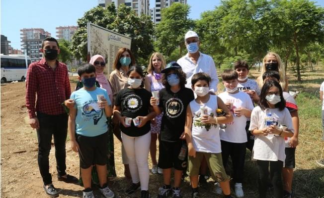 Mezitli'nin Çocukları Tohumuna Sahip Çıkıyor
