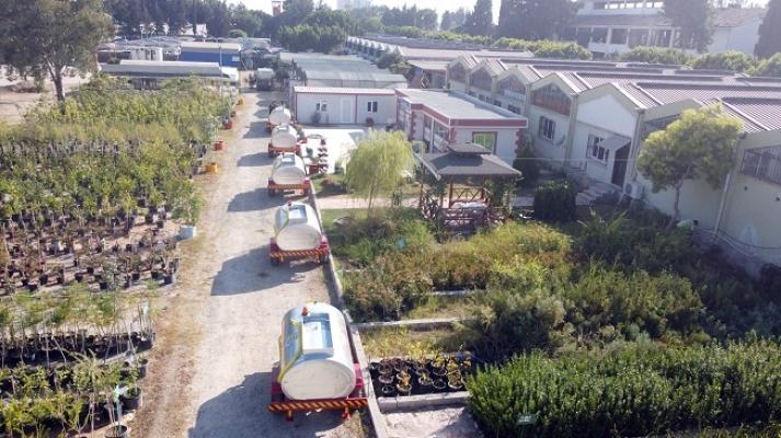 Tarsus Belediyesinden Orman Yangınlarını Önlemek İçin 23 Su Tankeri Bağışladı.