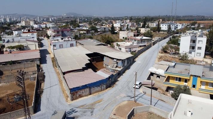 Tarsus'da Bolatlı Mahallesi Tarihinde İlk kez Yol Hizmeti Görüyor.