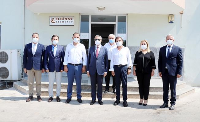 Vali Su Mersin Tarsus Organize Sanayi Bölgesinde İncelemelerde Bulundu.