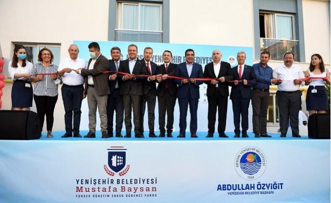 Yenişehir Belediyesi Erkek Öğrenci Yurdunu Hizmete Açtı