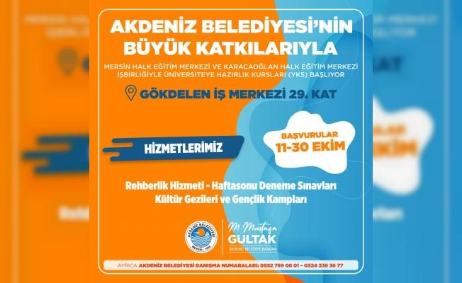Akdeniz Belediyesinden Üniversite Hayali Kuran Gençlere Büyük Destek