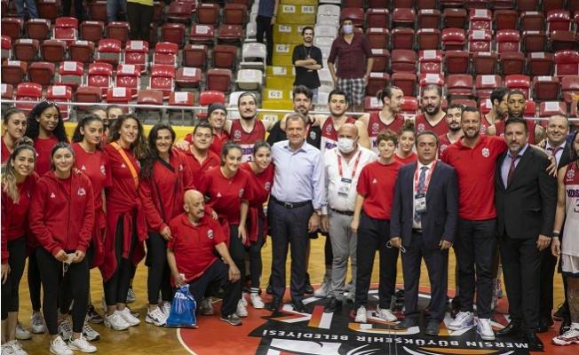 Büyükşehir MSK Erkek Basketbol, TED Ankara Kolejliler 92-86'lık Skorla Yendi.