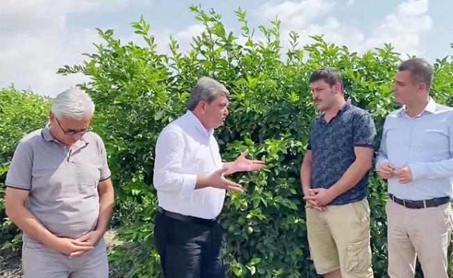 CHP'li Gökçel: Çiftçi Borç Ekiyor Haciz Biçiyor