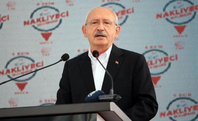 Kemal Kılıçdaroğlu, Mersin'de 'Büyük Nakliyeciler Buluşması'nda