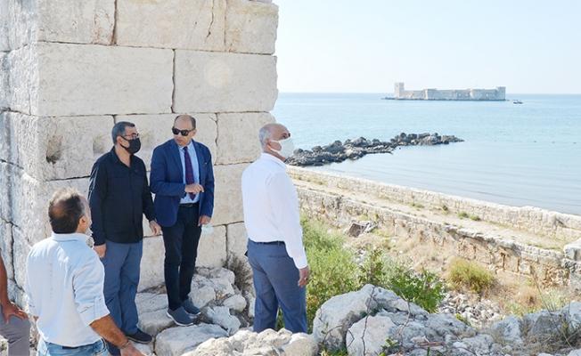 Mersin Üniversitesi, Kızkalesi'ni Turizme Kazandıracak