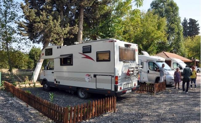 Tarsus'taki Karavan Park İlk Misafirlerini Ağırlamaya Başladı.