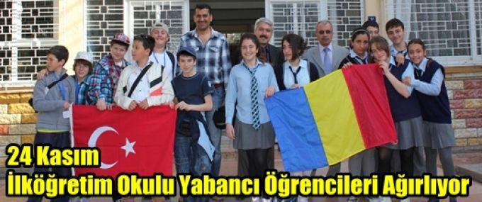 24 Kasım İlköğretim Okulu Yabancı Öğrencileri Ağırlıyor