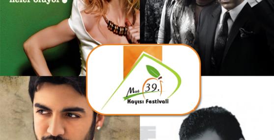 39. Mut Kayısı Kültür ve Sanat Festivali 1 Haziranda Başlıyor