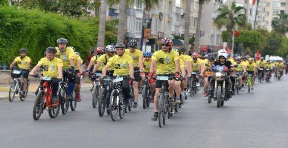 4.Mersin Caretta Bisiklet Festivali Başladı