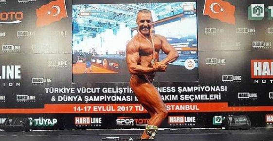 58'lik Vücutçu, Gözünü Dünya Şampiyonluğuna Dikti