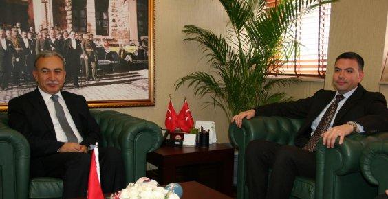 ABD Adana Konsolosu Espinoza'nın veda ziyaretleri