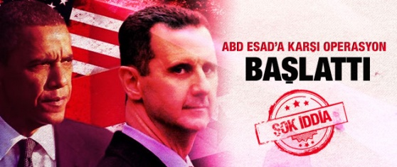 ABD, Esad'a karşı operasyon başlattı
