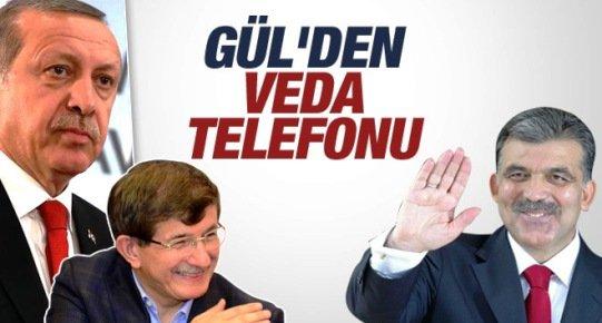 Abdullah Gül'den Hem Tebrik Hem de VEDA TELEFONU