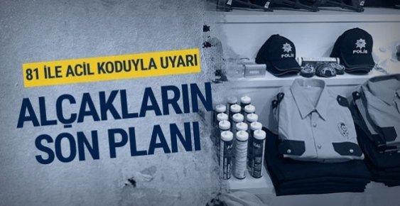 Adana'da Teröristler Polis Kılığında Saldırı Düzenleyeceklerdi.