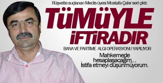 Adı Rüşvet İddiasına Karışan MHP'li Meclis Üyesi İstia Etmeyeceğim