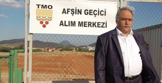 Afşin'e, TMO geçici alım merkezi kuruldu