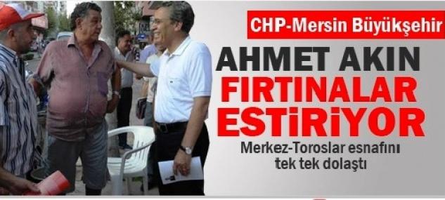 Ahmet Akın Mersin'i Karış Karış Dolaşıyor