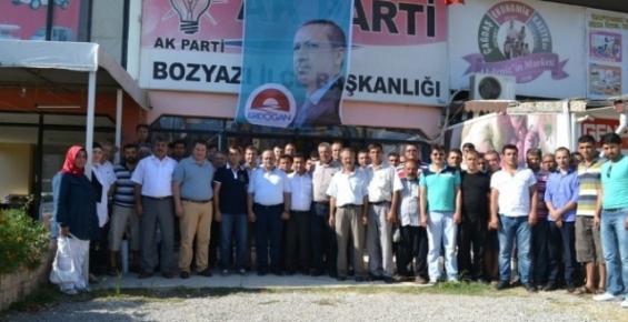 AK Parti Bozyazı İlçe Yönetimi Tanıtıldı