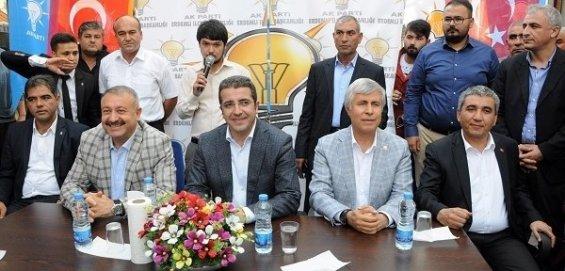 AK Parti Milletvekilleri Ülkücülere Teşekkür Etti.