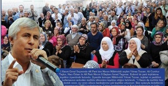 AK Parti'den Ülkücülere Teşekkür
