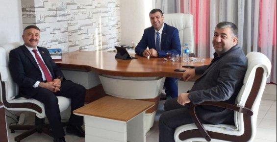 AK Parti'li Özkan'dan Başkan Karak'a Ziyaret