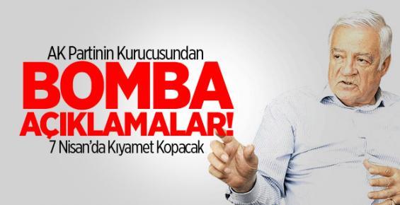 AK Partinin Kurucusundan Bomba Açıklamalar!