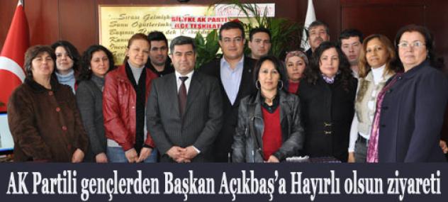 Ak Partiye Geçen Taşucu Belediye Başkanına Ak Gençlerden Ziyaret