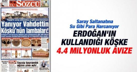 Ak Saray'dan Sonra Vahdettin Köşkü'ne de Milyonlar Akıyor