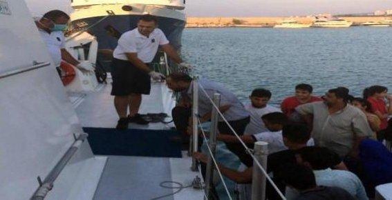 Akdeniz Açıklarında 156 Göçmen Yakalandı