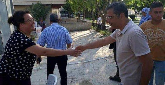 Akdeniz Belediye Başkanı, Pamuk'un Bayram Turu