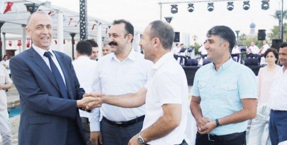 Akdeniz Belediyesinde Başkan Değişimi