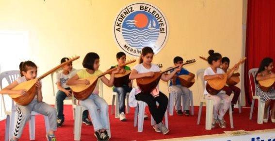 Akdeniz Belediyesi'nden Ücretsiz Sanat Kursları