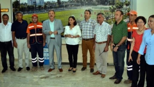 Akdeniz'de Başarılı Personel 'Altın' ile Ödüllendiriliyor
