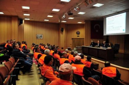 Akdeniz'de 'İş Sağlığı Ve Güvenliği Eğitimi'