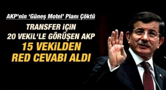 AKP Transfer İçin 20 Milletvekiliyle Görüşüyor İddası