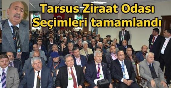 Ali Ergezer Yeniden  Tarsus Ziraat Oda Başkanı