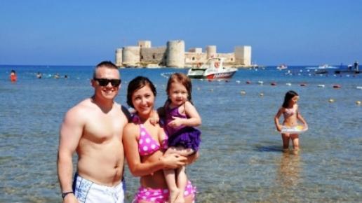 Amerikalı Borsacı, Fotoğraflarına Hayran Kaldığı Kızkalesi'ne Tatil İçin Geldi