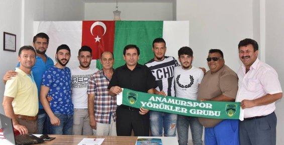 Anamur Belediyespor'dan 5 Transfer