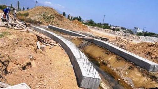 Anamur'da Yeni Çevre Yoluna Yeni Köprü