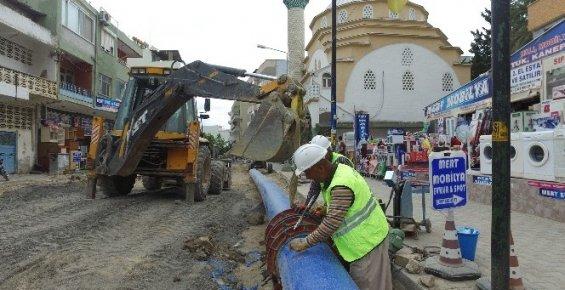 Anamur'un İçme Suyu Şebekesi Yenileniyor