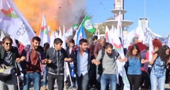 Ankara'daki Bombanın Patladığı An Uzun Hali