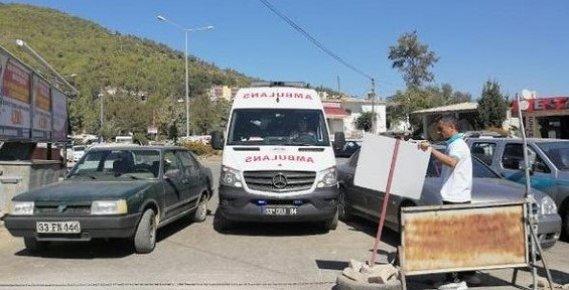 Araçlar Park Yasağına Uymadı, Ambulans Geçidi Kapandı