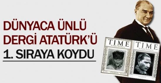 Atatürk İlk Sırada