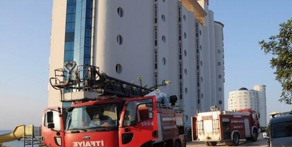 Ayaştaki Royal Sebaste Otelde Yangın Paniği