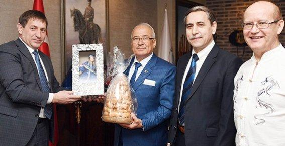 Aznakay Heyetinden Başkan Kocamaz'a Ziyaret