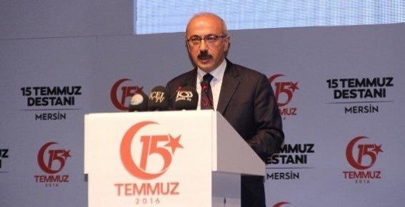 """Bakan Elvan: """"15 Temmuz Sadece Bizim İçin Değil, Dünya Demokrasisi İçin Bir Derstir"""""""
