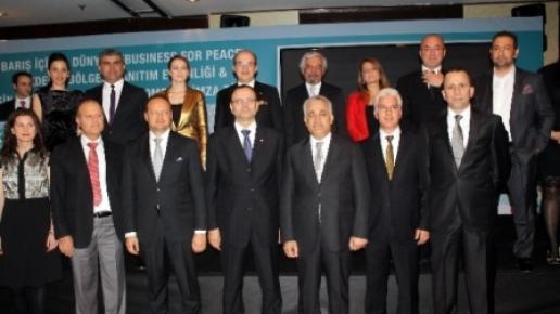 Barış İçin İş Dünyası Akdeniz Bölge Tanıtım Etkinliği Mersin'de Yapıldı